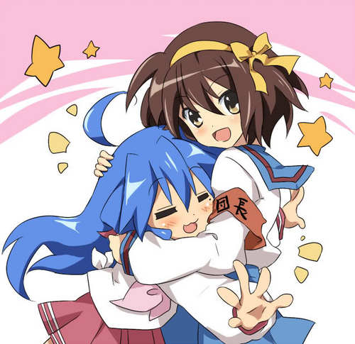 Konata & Haruhi