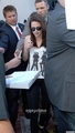 Kristen Stewart arriving at the Hard Rock Hotel in San Diego. [July 23] - kristen-stewart photo