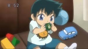 Kyoya as a baby