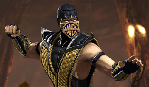 Mortal Kombat images LOOK VERY CLOSLEY AT SCORPION'S MOUTH! wallpaper and background photos