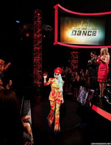 Lady Gaga on 'So Du Think Du Can Dance'