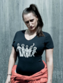 Lauren Socha (with Misfits T-Shirt)