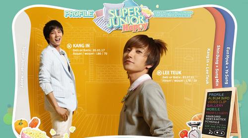 Leeteuk and Kangin