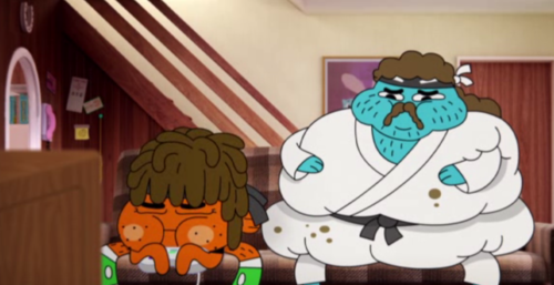 Life wated karate - the-amazing-world-of-gumball Screencap