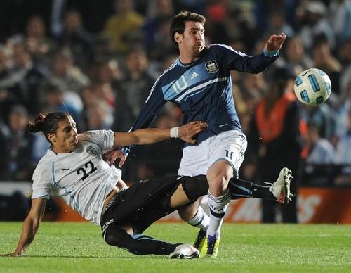 Lionel Messi, Argentina - Uruguay ( 1-1 pen, 4-5 )