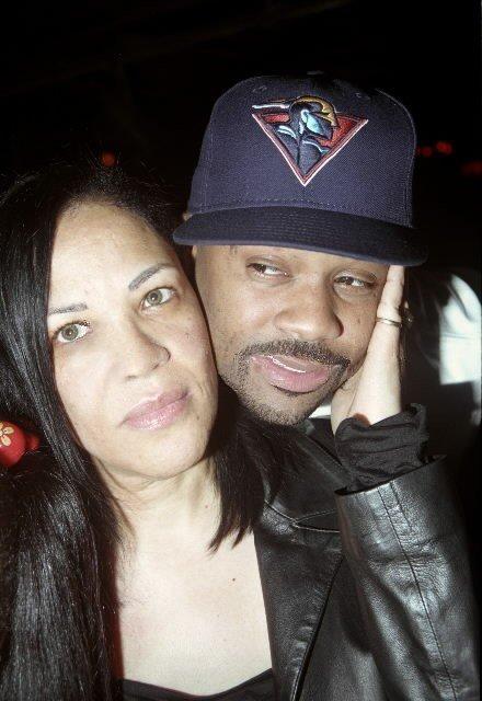 Liyah's mom, Diane with Damon Dash