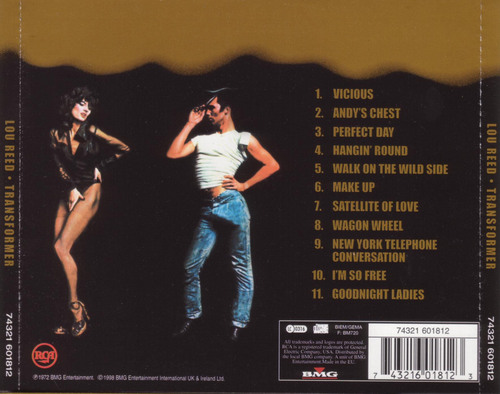 Transformer (CD Back Cover)