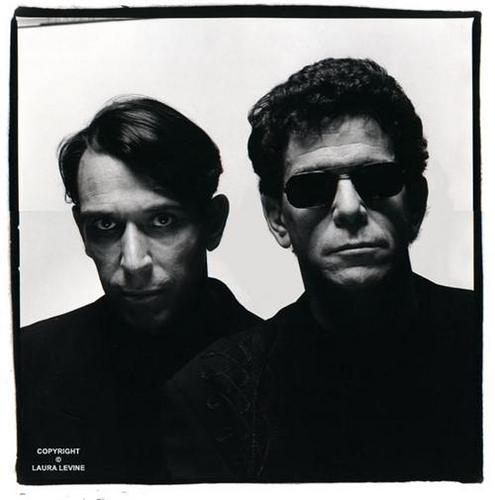 Lou Reed wallpaper containing sunglasses called Lou Reed + John Cale