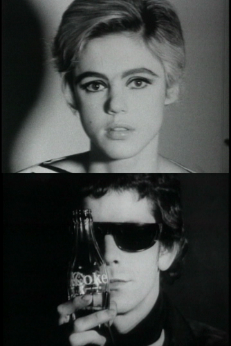 Lou Reed wallpaper with sunglasses entitled Edie + Lou's  - Screentests