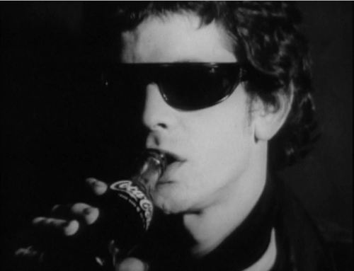 Lou Reed wallpaper containing sunglasses called Lou Reed - Screentest
