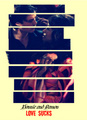 Love Sucks-Damon&Bonnie - the-vampire-diaries-couples fan art