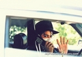 MJ..... the phone - michael-jackson photo