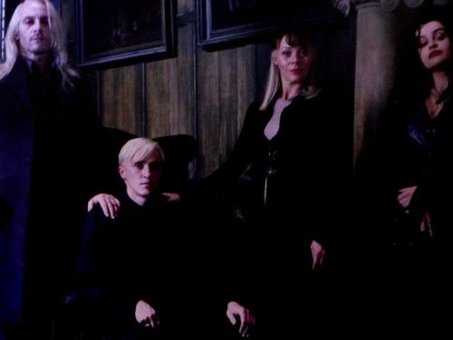 Malfoy Family with Bellatrix Lestrange