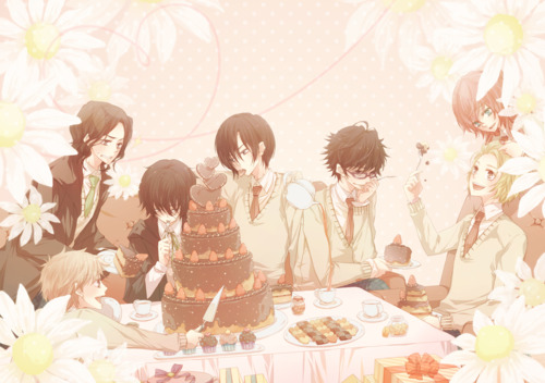 Harry Potter Anime wallpaper with a bouquet called Marauders