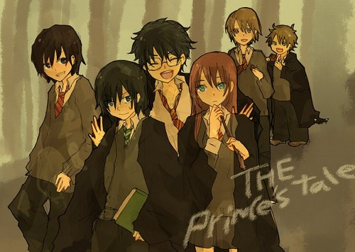 Harry Potter Anime wallpaper titled Marauders