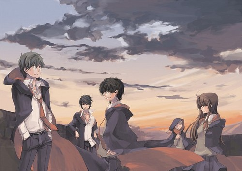 Harry Potter Anime wallpaper called Marauders