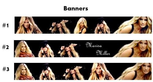 Marisa Miller - Banners
