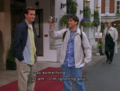 Matt as Joey { le blanc as Tribbiani }