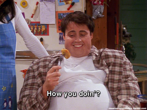 Matt le blanc fond d'écran entitled Matt as Joey { le blanc as Tribbiani }