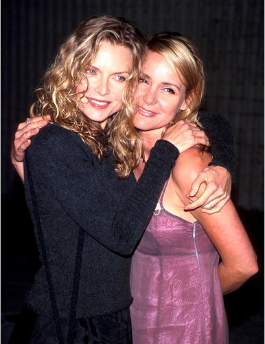 Michelle and sister Deedee Pfeiffer