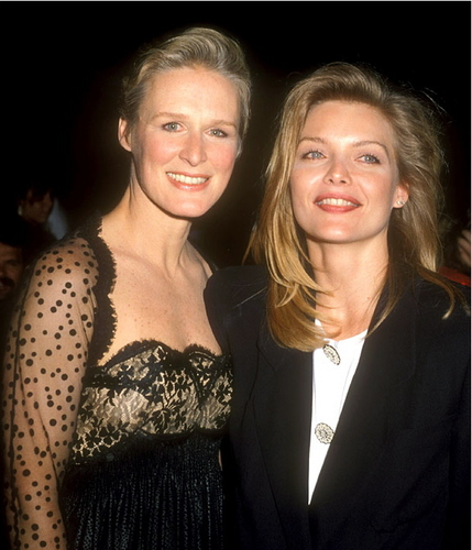 Michelle Pfeiffer and Glenn Close