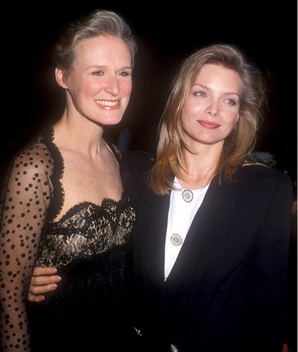 Michelle Pfeiffer and Glenn Close