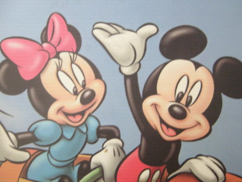 Mickey and Minnie wallpaper probably with anime called Mickey & Minnie