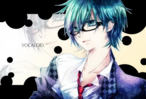 Mikuo with glasses