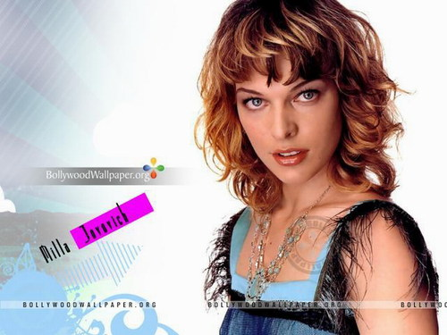 Milla Jovovich karatasi la kupamba ukuta containing a portrait called Milla Jovovich