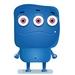 Monster avatar - blue icon