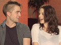 More of Rob and Kristen's Interview with Cineplex - robert-pattinson-and-kristen-stewart screencap
