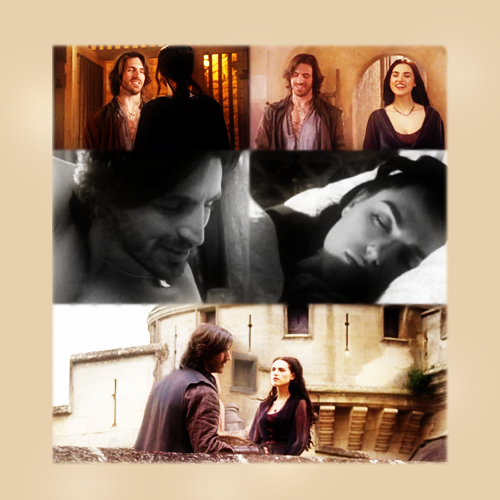 Morgana and Gwaine