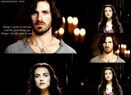 Morgana and Gwaine
