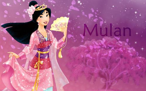 Mulan wallpaper possibly containing a bouquet titled Mulan