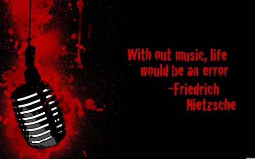 Musica wallpaper called Musica Quote wallpaper