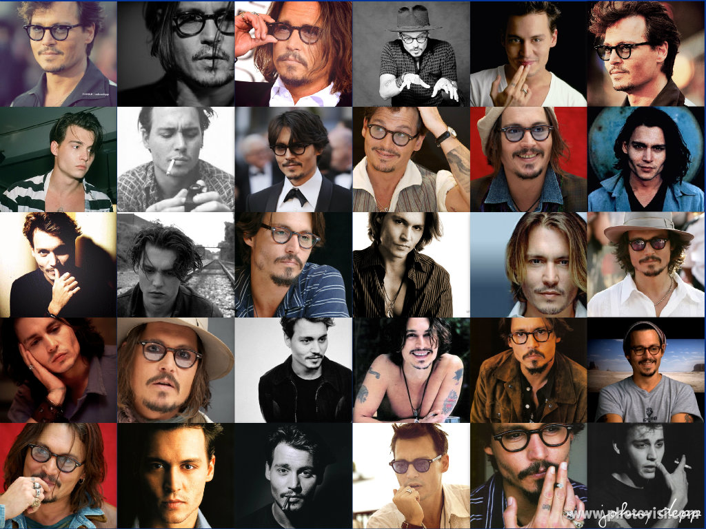 Johnny Depp Images My Jd Collage Hd Fond D Ecran And Background