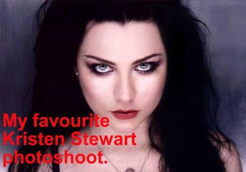 Harry Potter vs Twilight fond d'écran containing a portrait entitled My favortie Kristen Stewart photo shoot