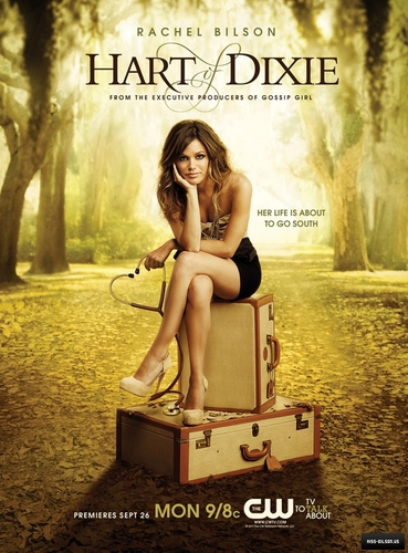 New 'Hart Of Dixie' promotional poster!