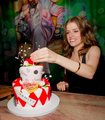 New photos of Anna Kendrick at her brithday celebration. - twilight-series photo