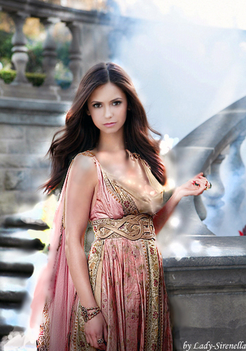The Vampire Diaries wolpeyper containing a cleaver entitled Nina Dobrev as antique Rome women