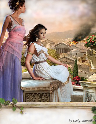 Nina Dobrev at Rome