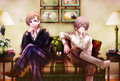 Norway and Iceland - hetalia-nordic-countries photo