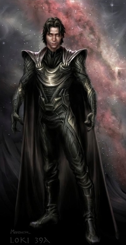 Loki (Thor 2011) वॉलपेपर probably with ऐनीमे called Official Concept Art