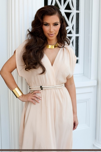 On Location For Photoshoot For Her Fragrance 'Gold' Los Angeles, Ca - 7/24/11