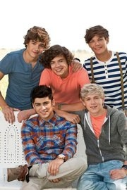 One Direction, so cute. >.<