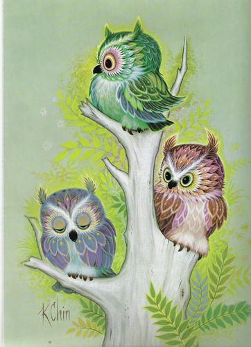 Owls द्वारा K. Chin