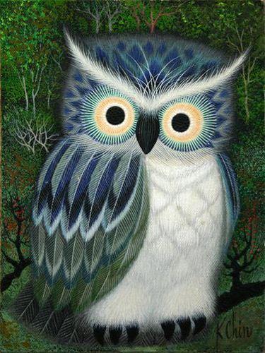 Owls por K. Chin