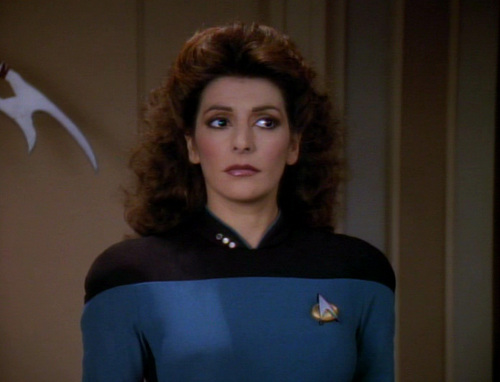 Image result for deanna troi season 7