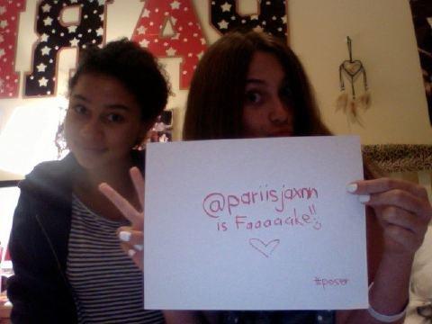 Paris Jackson twitter proof - paris-jackson photo