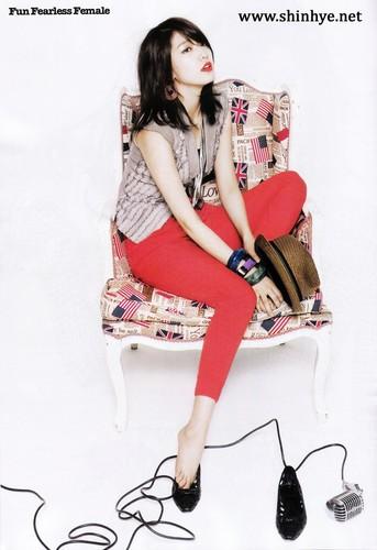 Park Shin Hye – Cosmopolitan Magazine May Issue '11